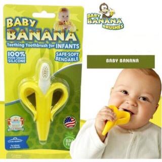 [Mã 77FMCGSALE1 giảm 10% đơn 250K] Gặm nướu chuối an toàn cho bé - giảm ngứa lợi, làm sạch răng thumbnail