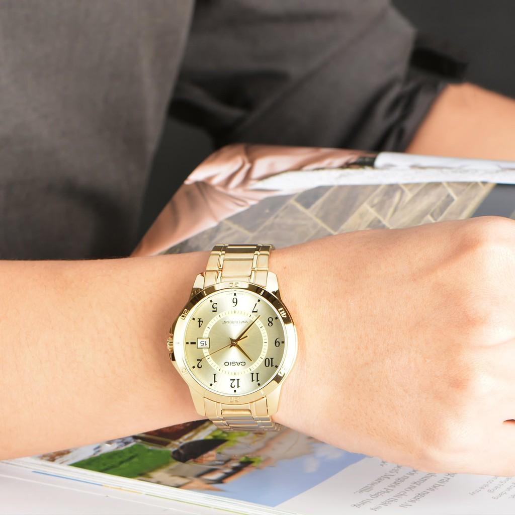 Đồng hồ nam dây kim loại chính hãng Casio Anh Khuê MTP-V004