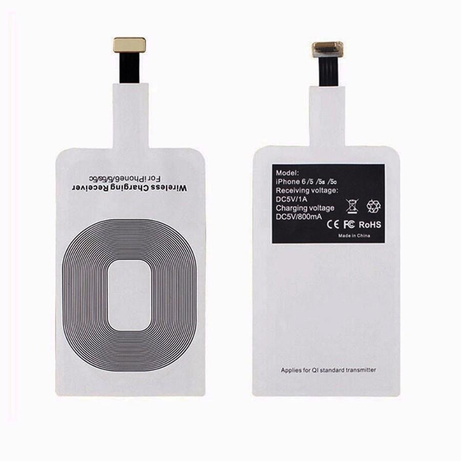 Chip sạc không dây cho điện thoại IOS 5/5s, 6/6s, 6plus/6splus, 7/7plus
