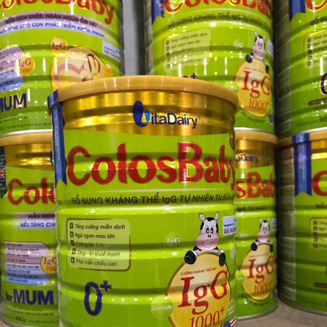 Sữa colosBaby 800 g (0gold)