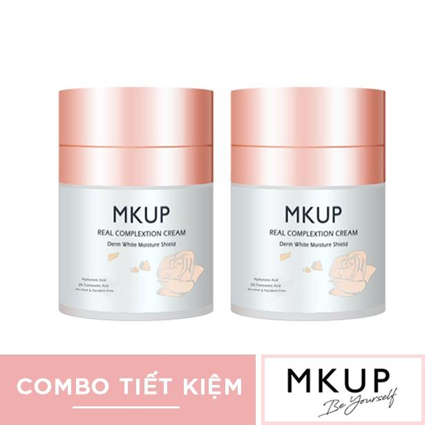 Bộ sản phẩm Kem lười MKUP dưỡng ẩm trắng da 30ml x 2 sản phẩm