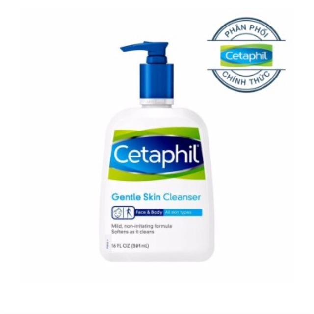Sữa rửa mặt dịu nhẹ cho mọi loại da - Gentle Skin Cleanser 500ml - Cetaphil - 3361806 , 759775416 , 322_759775416 , 180000 , Sua-rua-mat-diu-nhe-cho-moi-loai-da-Gentle-Skin-Cleanser-500ml-Cetaphil-322_759775416 , shopee.vn , Sữa rửa mặt dịu nhẹ cho mọi loại da - Gentle Skin Cleanser 500ml - Cetaphil