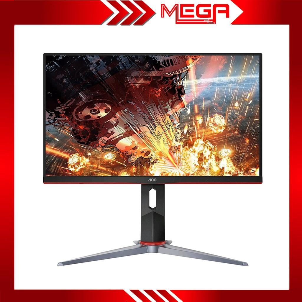 Màn hình gaming LCD AOC 24G2 23.8 inch IPS( FreeSync, 1ms, 144Hz, HDMI /DP) có thể xoay được 90 độ