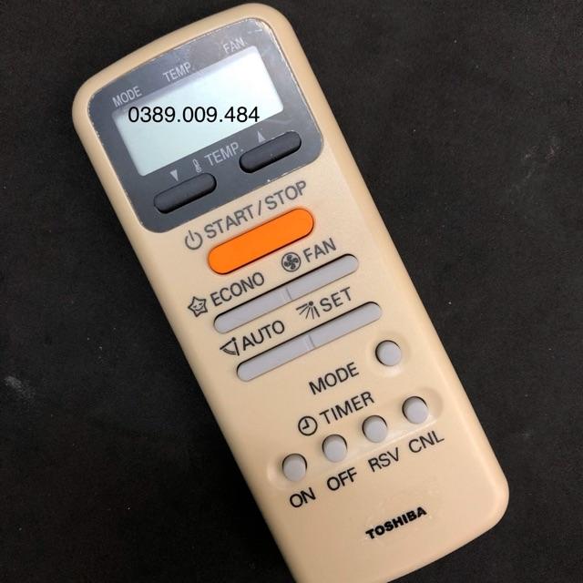 Điều khiển điều hoà TOSHIBA - Remote máy lạnh TOSHIBA (mẫu 1)