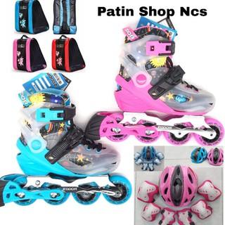 Combo giày Patin chính hãng cao cấp có chế độ khóa bánh thumbnail