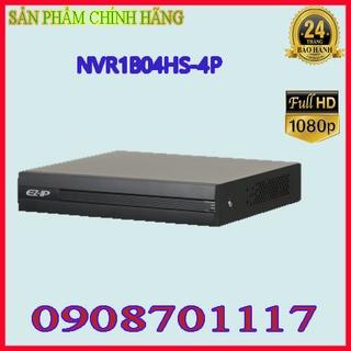 Đầu ghi hình camera IP 4 kênh DAHUA NVR1B04HS-4P thumbnail