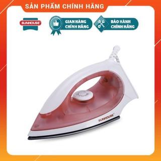 Hàng chính hãng Bàn là khô Sunhouse SHD1072 hồng Siêu bền