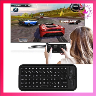 ⚛iPazzPort KP-810-16B Mini Size Wireless 3.0 Keyboard Small Keyboard