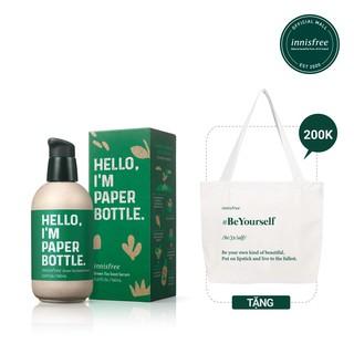 [ Phiên bản ECO] Tinh chất dưỡng ẩm innisfree Green Tea Seed Serum Eco160ml