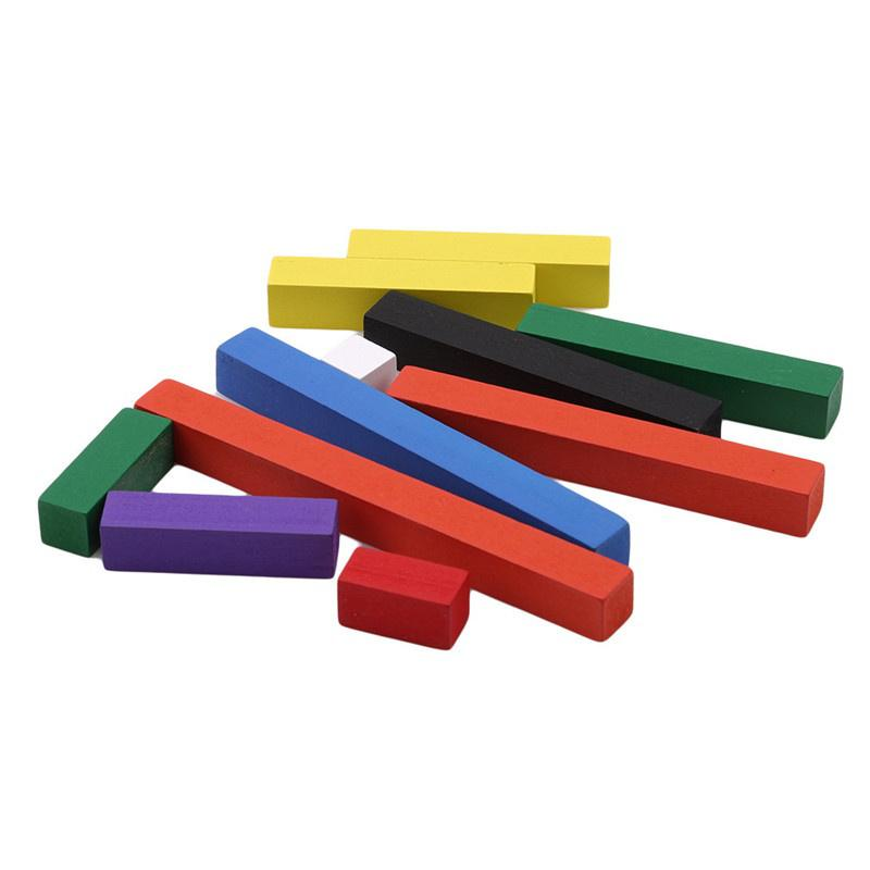 Wooden Number Counting Sticks Math Game Rods Educational Toys Intelligence