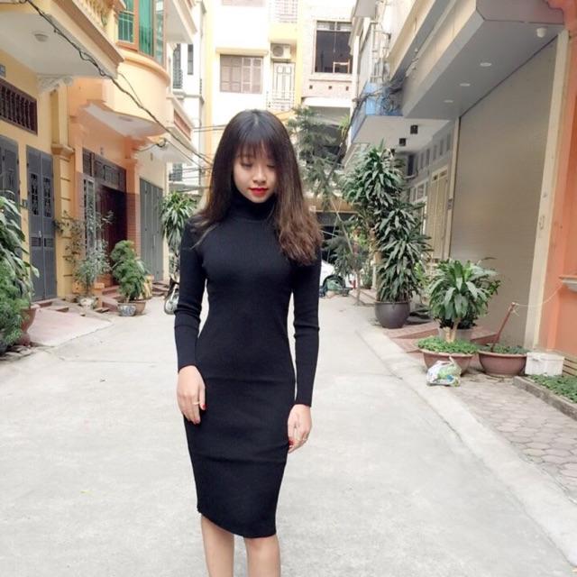 Váy len body cổ lọ siêu xinh - 2815977 , 105246188 , 322_105246188 , 250000 , Vay-len-body-co-lo-sieu-xinh-322_105246188 , shopee.vn , Váy len body cổ lọ siêu xinh