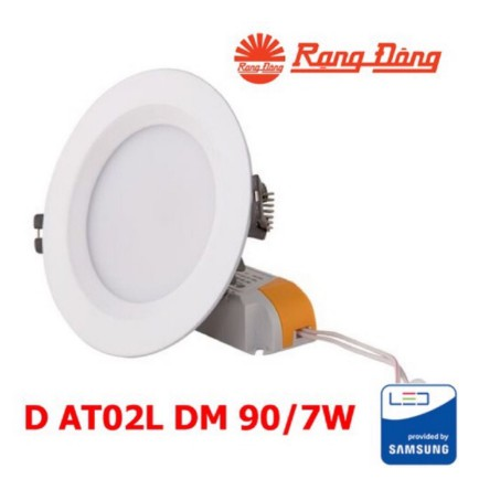 Đèn LED âm trần Downlight Rạng Đông D90/7W đổi màu
