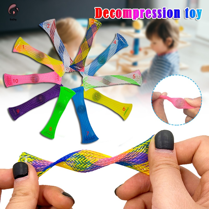 Set 5 ống đồ chơi giảm căng thẳng cho người lớn và trẻ em