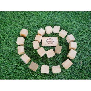 Set 20 khối gỗ thơm quý (tặng kèm túi canvas)