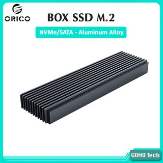 Box SSD M2 NVMe SATA Orico M2PJ M2PJM-C3 Chuyển SSD M.2 PCIe NGFF to USB Type-C làm ổ cứng di động thumbnail