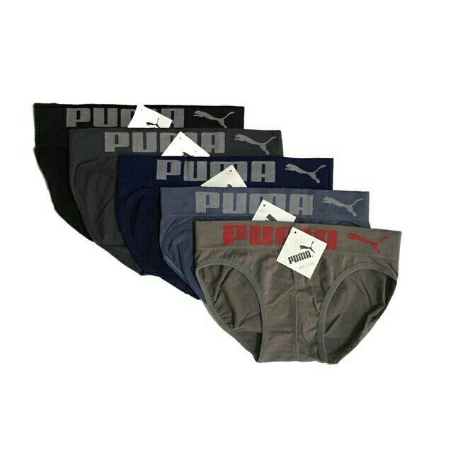 Combo 5 quần lót nam dệt kim khoomg đường may