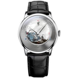 [Mã FARSBR153 giảm 15% đơn 150K] Đồng hồ nam Poniger P7.23-4