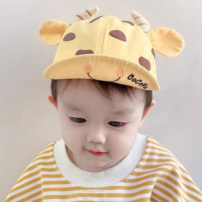 Mũ cho bé gái bé trai MATYDO mũ nón lưỡi trai bò sữa đáng yêu phụ kiện mũ nón MU012