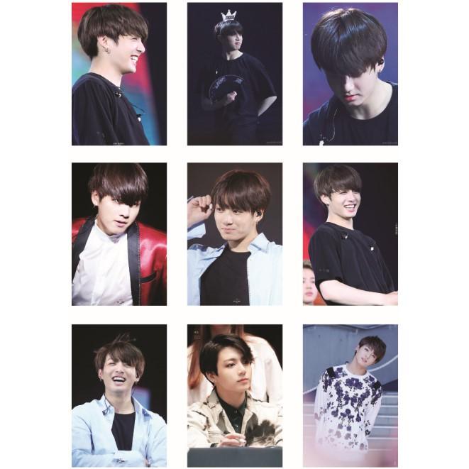 Lomo Card ảnh BTS JUNGKOOK full 45 ảnh