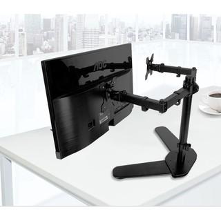 giá đỡ2 Màn Hình Máy Tính Để Bàn Đứng Đôi Tay 360 Độ cho màn hình 10-27inch- M042