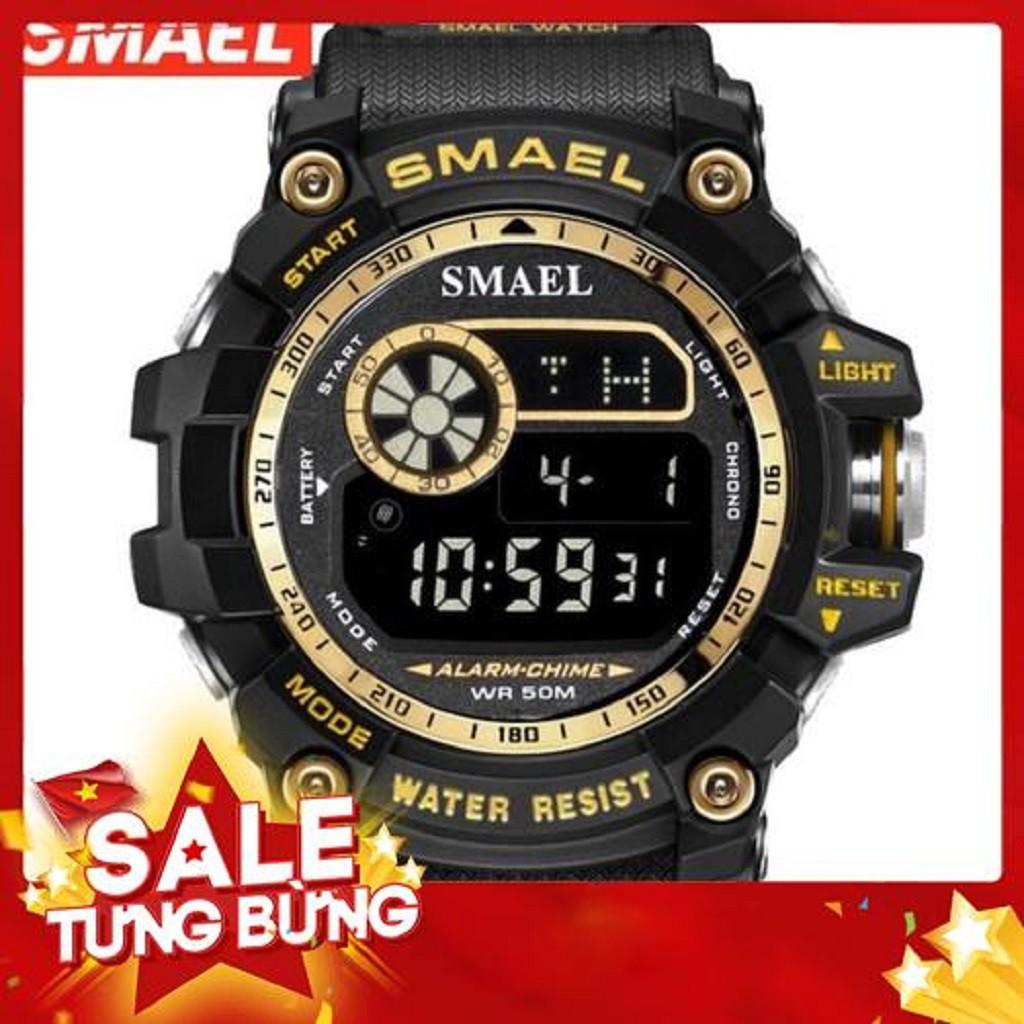 [FULL HỘP] -Đồng hồ nam SMAEL đa chức năng- chống nước vượt trội-Hàng chính hãng Đồng hồ kim-điện tử