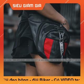 KHO SG- Giá buôn HCM - Túi đeo đùi phiên bản mới RAMBO như Dainese cao cấp - Túi đeo chéo hông tiện dụng thumbnail