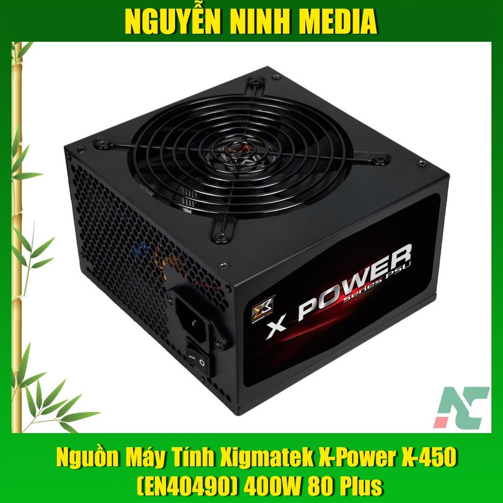 Nguồn Xigmatek X-Power X-450 (EN40490) 400W 80 Plus