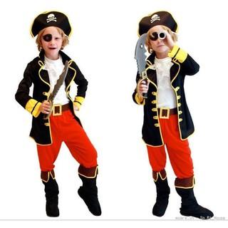 Trang phục Halloween cho bé trai hình cướp biển