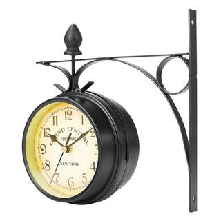 HÀNG bán chạy ! đồng hồ tròn treo tường thiết kế 2 mặt