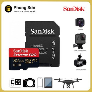 Thẻ nhớ Micro SDHC 32GB Extreme Pro 667x 100mb/s UHS-1 Sandisk