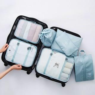 Bộ 7 túi đựng vật dụng đi du lịch tiện lợi