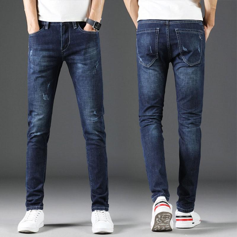 Quần jean nam dài cào♥️FREESHIP♥️ co giản ống suông cao cấp