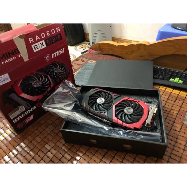 VGA, Card màn hình Radeon MSI RX 580 GAMING X 8G Giá chỉ 2.500.000₫