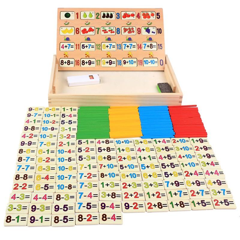 Đồ chơi trí tuệ hộp số toán học