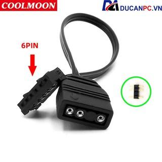 Dây Chuyển Nguồn 5v ARGB Sync Main ra 6 Pin Đồng Bộ Hub Coolmoon thumbnail