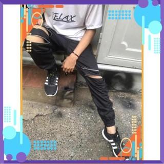 [Form Bao Đẹp] Quần Jorger – Quần Jogger Kaki nam nữ có khóa kéo Zipper , Quần Jorger Uniex Siêu Chất ..AF