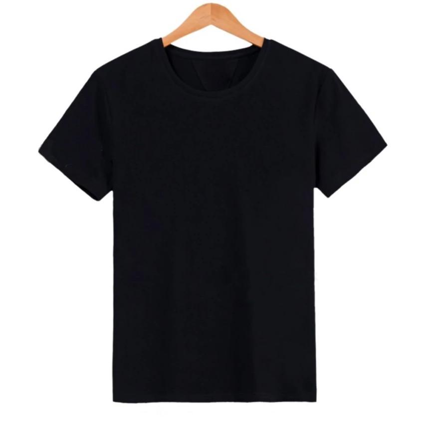 Áo thun trơn nam thời trang Everest màu đen