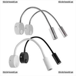 {N-thick}LED Lamp Flexible Bedside Wall Lights Aluminum LED AC85-265V