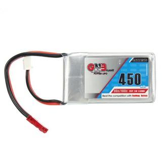 Pin sạc Gaoneng GNB 7.4V 450mAh 2S 80/160C Lipo Battery JST Plug FPV Racer