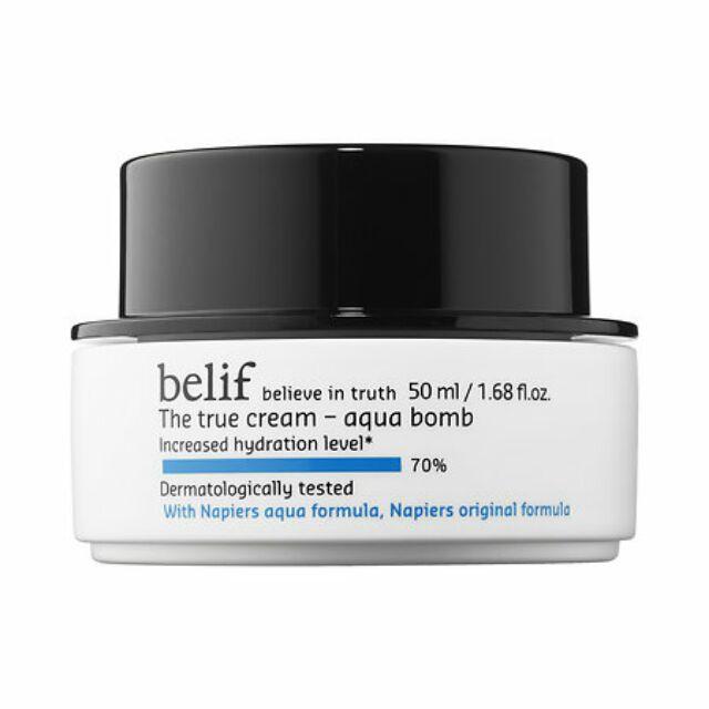[Mini 10g] Kem dưỡng belif the true cream Aqua bomb
