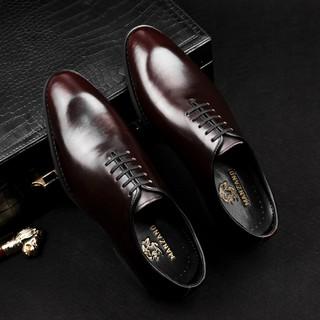 Giày nam da thật chính hãng Manzano kiểu dáng châu Âu thanh lịch nam tính M22000
