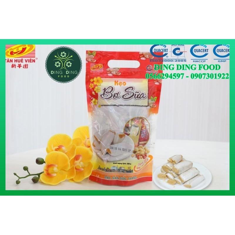 Kẹo bơ sữa đậu phộng cao cấp ( Kẹo kéo hay kẹo dồi lạc vừng ) Tân Huê Viên - DING DING FOOD