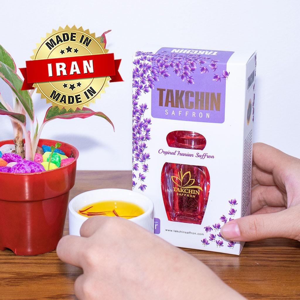 [100% CHÍNH HÃNG] 1gr Nhụy Hoa Nghệ Tây TAKCHIN SAFFRON nhập khẩu từ IRAN [100% CHÍNH HÃNG] 1gr Nhụy Hoa Nghệ Tây TAKCHIN SAFFRON nhập khẩu từ IRAN