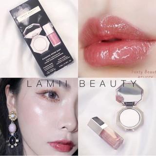 CÓ BILL - Set son và highlight Fenty beauty by Rihanna - Diamond bomb baby mini lip gloss and highlighter set