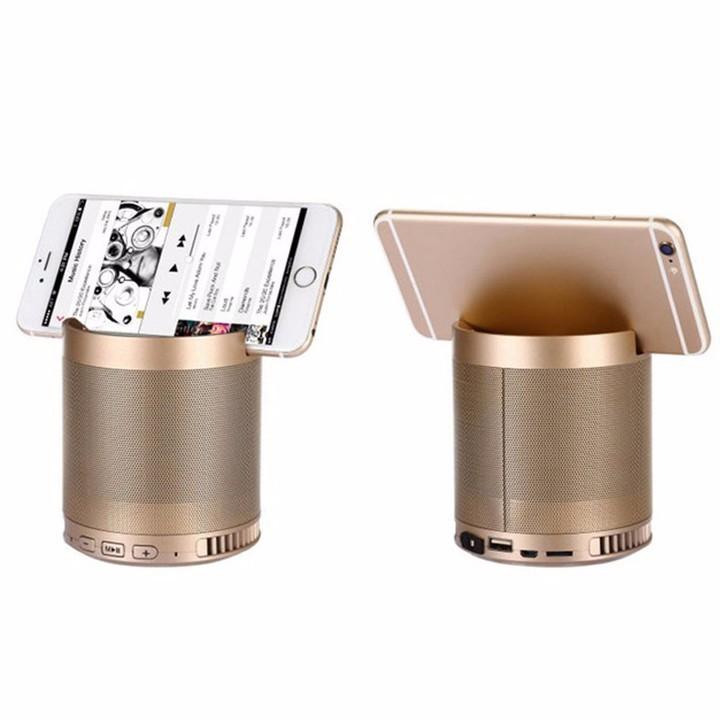 Loa bluetooth đa năng NTC HF-Q3 - âm bass, loa không dây cầm tay có giá đỡ điện thoại