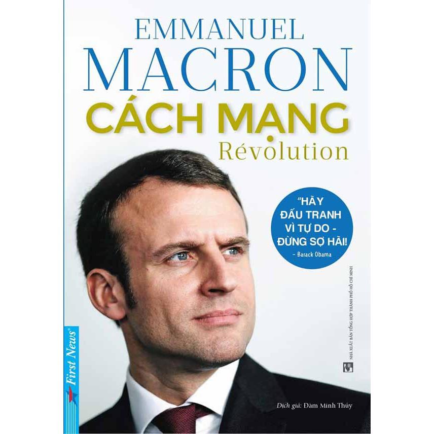 Sách - Cách Mạng - Tác phẩm của Tổng thống Pháp - 8935086844885