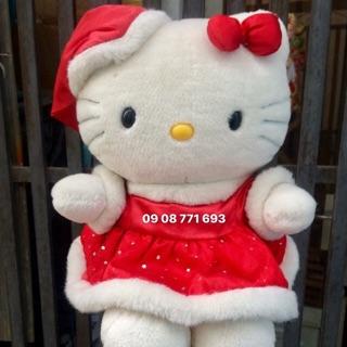 Thú bông Kitty giáng sinh cao 36cm