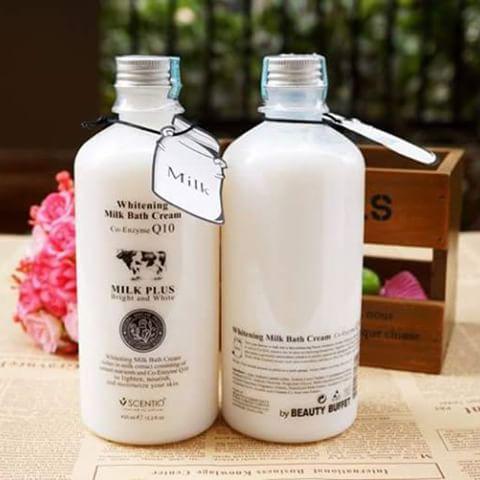 Sữa tắm Thái Lan con Bò Q10