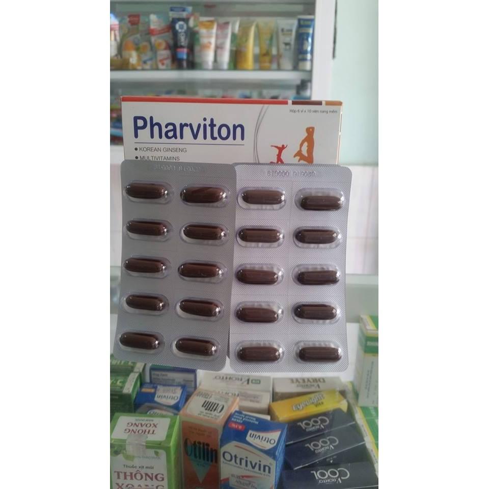 PHARVITON – Thuốc bổ sung vitamin & khoáng chất - 2539343 , 70729545 , 322_70729545 , 100000 , PHARVITON-Thuoc-bo-sung-vitamin-khoang-chat-322_70729545 , shopee.vn , PHARVITON – Thuốc bổ sung vitamin & khoáng chất