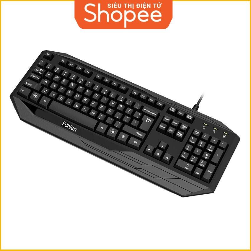 [Siêu Khuyến Mãi] Bàn Phím chơi Game Fuhlen Pro G450 (Đen) Giá chỉ 498.750₫